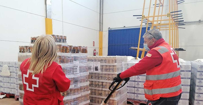 Cruz Roja distribuye más de 180.000 kilos de alimentos en la provincia