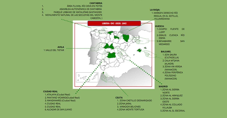 Cruz Roja 'Libera' la provincia de la basuraleza'
