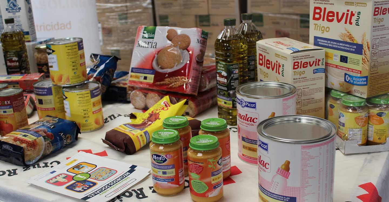 Cruz Roja reparte en la provincia más de 213.000 kilos de alimentos a 6.412 personas