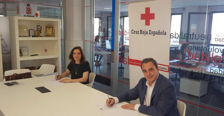 Cruz Roja de Ciudad Real y la UNED firman un convenio de cooperación educativa y formativa
