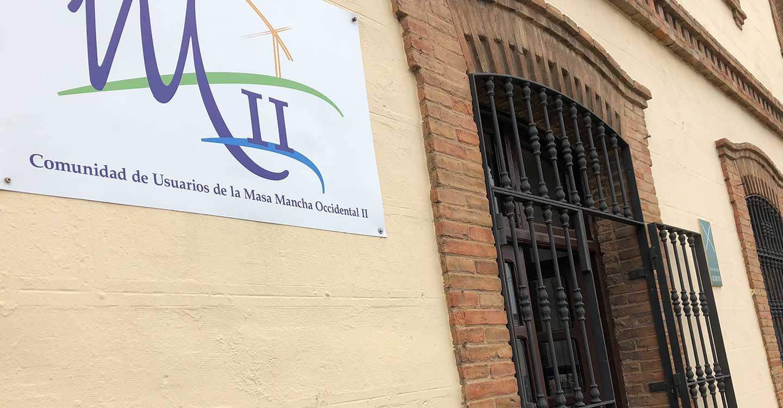 """Comunidad de Usuarios Mancha Occidental II confía en que la reunión entre el presidente de Castilla-La Mancha y la Confederación Hidrográfica del Guadiana sea """"positiva para los regantes"""" del Alto Guadiana"""