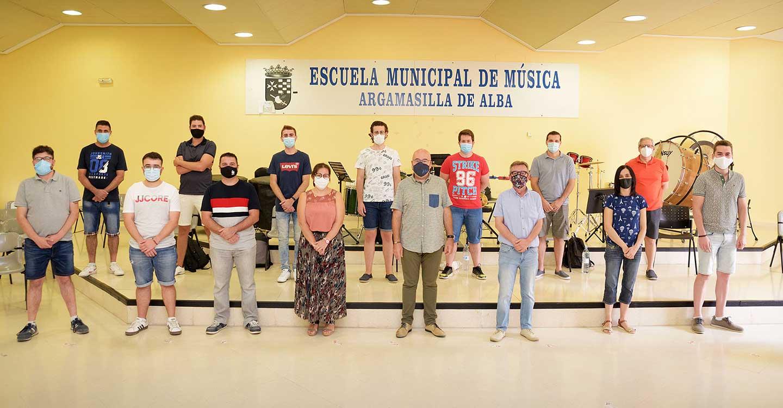 En marcha el XVIII Curso Internacional de Dirección de Bandas de Música de Argamasilla de Alba