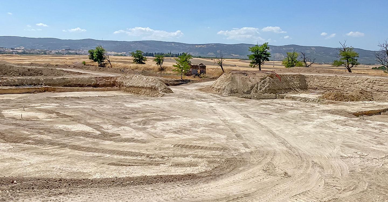 Avanzan a gran ritmo los trabajos que dotarán a Almodóvar del Campo de depuradora de aguas residuales en un año