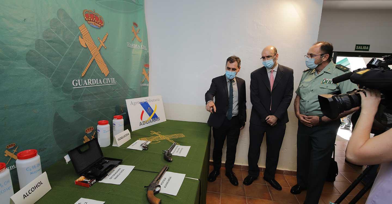 Desarticulada en Castilla-La Mancha una organización dedicada a la fabricación y venta de vino y alcohol adulterados