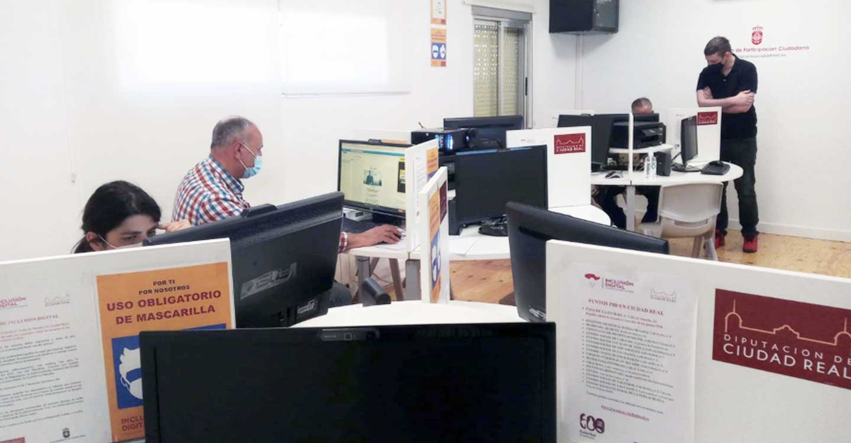 La Diputación de Ciudad Real y la UCLM ponen en marcha un curso de técnico en dinamización de puntos de inclusión digital