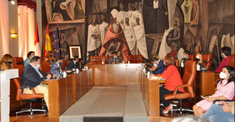El Pleno celebrado en la Diputación de Ciudad Real aprueba obras por 1.440.000 euros en 35 pueblos de la provincia y ya se han ejecutado 105 millones del presupuesto 2021