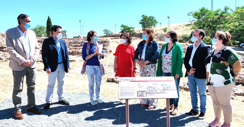 La Diputación de ciudad Real apoya el potencial turístico de la provincia en el acto de reapertura de los yacimientos y parques arqueológicos de Castilla-La Mancha