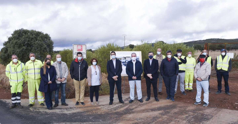 La Diputación de Ciudad Real contribuye a lograr mayor equilibrio territorial en Cabezarados, Abenójar y Los Pozuelos con el arreglo de dos carreteras