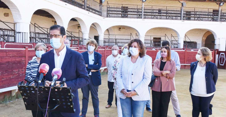 La Diputación de Ciudad Real financia la rehabilitación de la plaza de toros de Almadén para incorporarla a la Red Regional de Hospederías