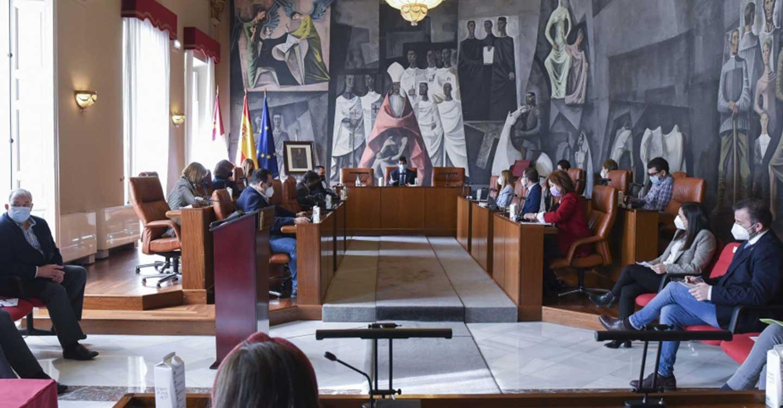 La Diputación de Ciudad Real aprueba por unanimidad el destino de 24'5 millones de euros de remanentes que se suman a los 135'4 presupuestados para 2021