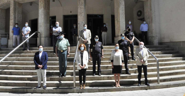 La Diputación de Ciudad Real se suma al minuto de silencio coincidiendo con la finalización de los diez días de luto oficial