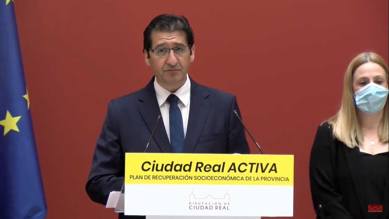 La Diputación de Ciudad Real moviliza más de 223 millones de euros, la mayor inversión de la historia, para combatir en la provincia la crisis económica causada por la COVID-19