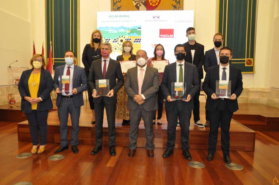 """La Diputación de Ciudad Real es reconocida por la UCLM por su contribución al programa """"Erasmus Rural"""""""