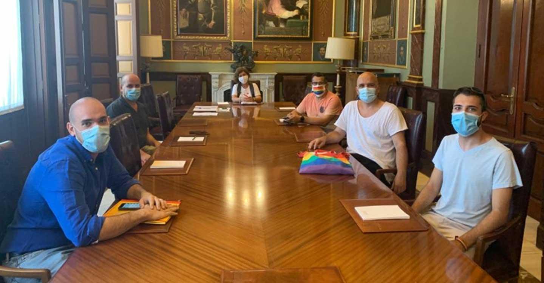 La Diputación de Ciudad Real sigue trabajando de forma conjunta con los colectivos LGTBI para dar visibilidad a la diversidad sexual y de género en cada rincón de la provincia