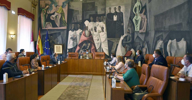 Diputación  de Ciudad Real y Cámara apoyan a los grupos de acción local con cinco técnicos para dinamizar el tejido empresarial en zonas despobladas