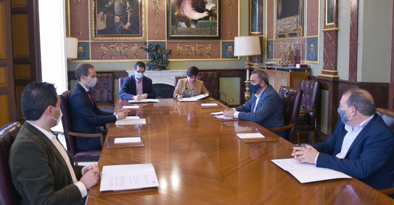 La Diputación Provincial de Ciudad Real colabora con la creación de la Cátedra de Investigación en Ciencia y Tecnología Química de la UNED en Puertollano
