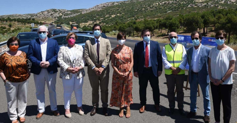 La coordinación entre el Gobierno de Castilla-La Mancha y la Diputación de Ciudad Real revitaliza las carreteras de Puertollano con una inversión superior a 1,5 millones de euros