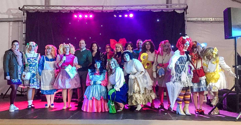 Disfraces con premio en la Carpa del Carnaval de Almodóvar del Campo