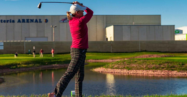 """Dolores Cano: """"Lo más difícil del golf es el alto grado de concentración que exige"""""""