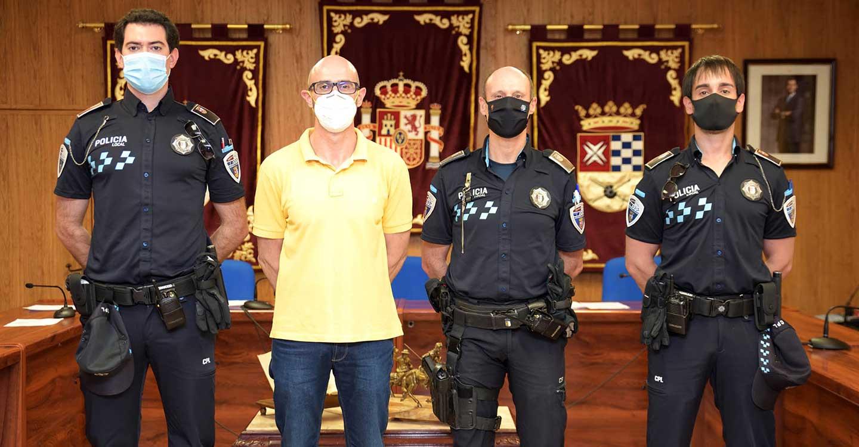 Dos nuevos agentes se incorporan a la plantilla de la Policía Local de Argamasilla de Alba
