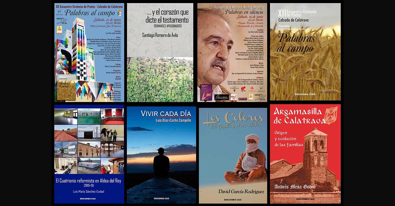 Ediciones C&G prepara el lanzamiento de nuevas actividades culturales y novedades literarias hasta el próximo verano