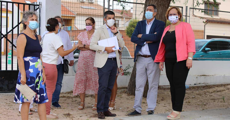 """El nuevo gimnasio del CEIP """"Sagrado Corazón"""", actuación más relevante del Gobierno de Castilla-La Mancha en los colegios de Campo de Criptana"""