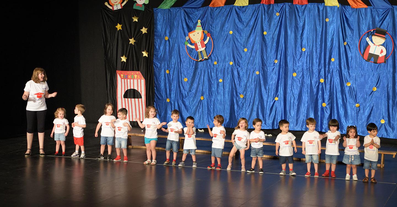 El acto de graduación despidió el curso 2018/19 en la Escuela Infantil Municipal de Argamasilla de Alba