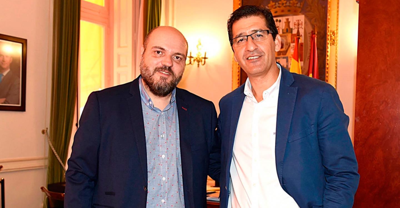 El alcalde a Alcolea le pide a Caballero que mantenga las inversiones en empleo, obras e infraestructuras
