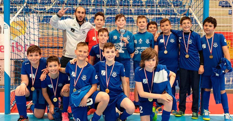 El alevín 'A' del Manzanares FS, campeón provincial