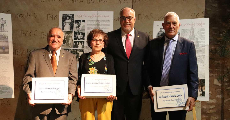 El Ayuntamiento distingue a los Manzanareños Ausentes 2019