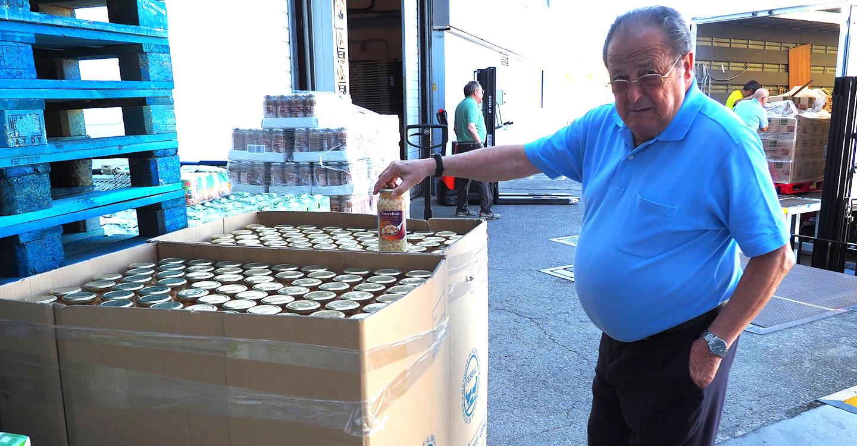El Banco de Alimentos de Ciudad Real repartirá 300.000 kg. de comida antes de agosto