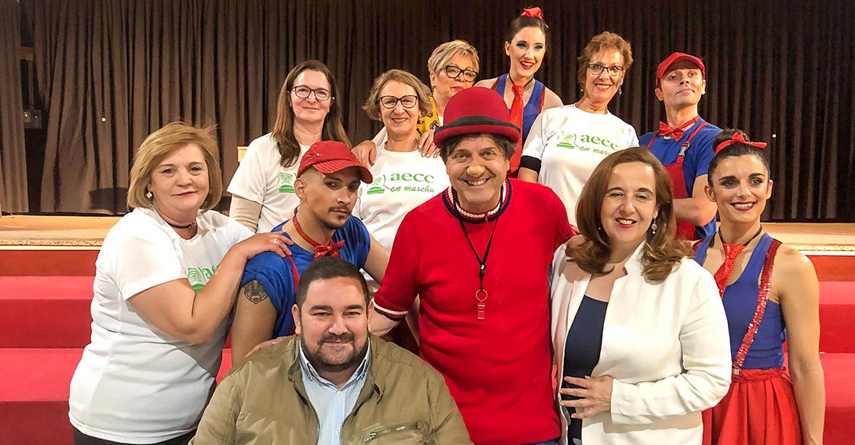 El Centro Cultural se llenó de público y de solidaridad con las canciones con que Rody Aragón emocionó a toda la familia
