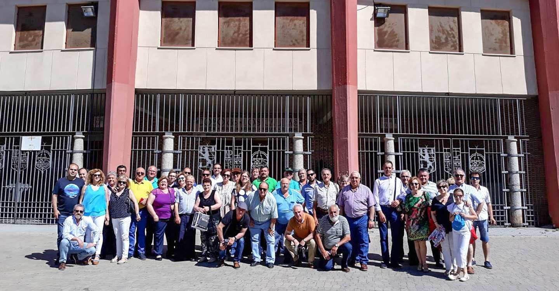 El Club Taurino 'Almodóvar' presenció en Córdoba la corrida de Juan Pedro Domecq con Finito, Morante y 'El Juli'