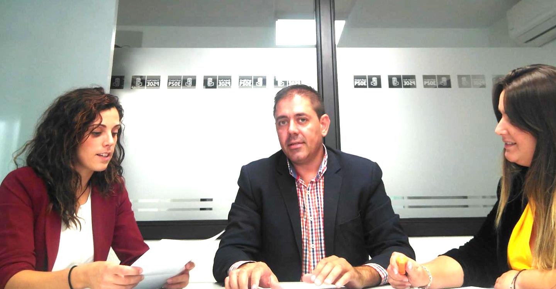 El grupo municipal socialista de Granátula continúa su ronda de contactos para explicar los problemas y necesidades de la localidad