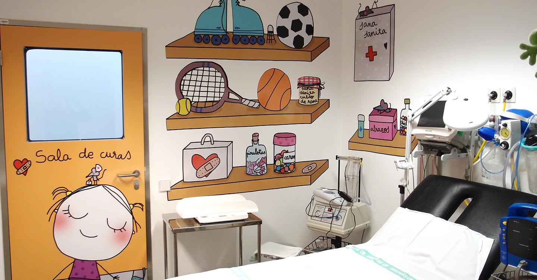 El Hospital de Ciudad Real renueva la decoración del área de Pediatría con la ayuda de las fundaciones 'curArte' y 'Solidaridad Carrefour'