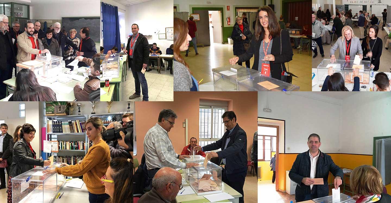 """El PSOE anima a votar """"por el presente y el futuro de la mayoría social y del desarrollo de la provincia de Ciudad Real"""""""