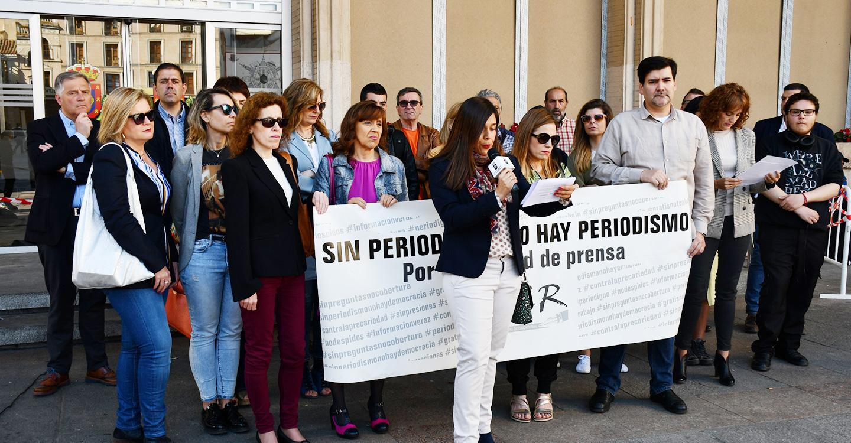 El PSOE apoya las reivindicaciones de los periodistas de Ciudad Real en el Día Mundial de la Libertad de Prensa
