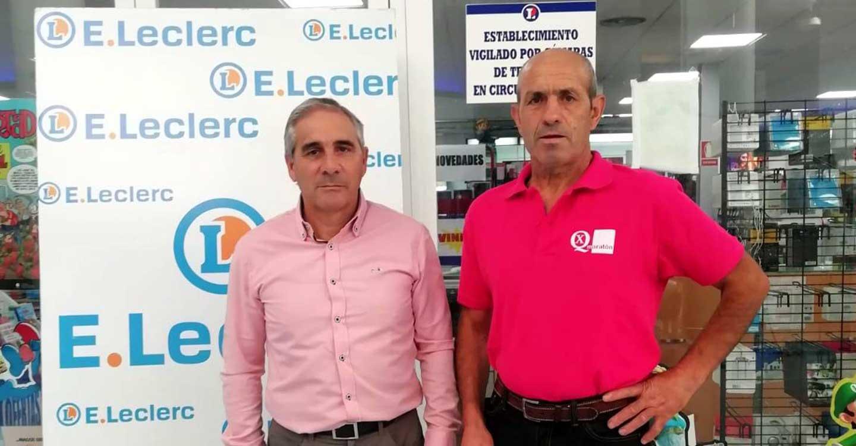 Hipermercado E.Leclerc se mantiene fiel al Quijote Maratón, especialmente en su 25 edición