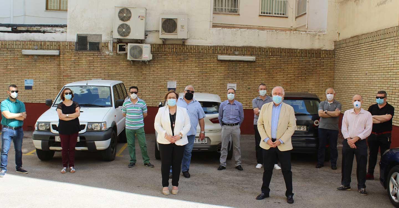 Los empleados públicos del parque móvil de la Junta han contribuido en la lucha contra el coronavirus con más de 1.580 traslados de personal y material en Ciudad Real