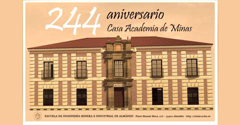 La Escuela de Ingeniería Minera e Industrial de Almadén cumple 244 años