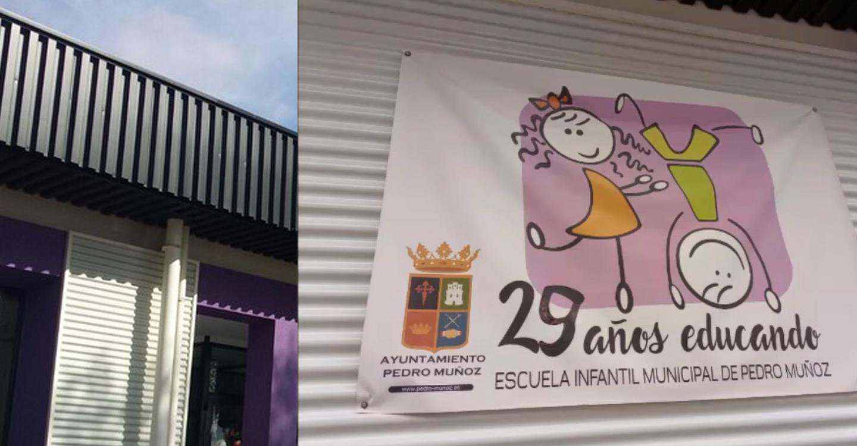 La Escuela Infantil de Pedro Muñoz recibe la alegría de los más peques y sus ganas de convivir, hacer amigos y aprender.