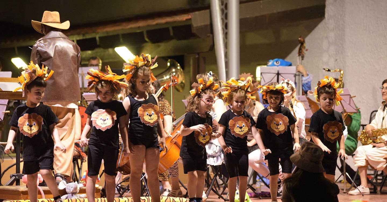 La Escuela Municipal de Música de Argamasilla de Alba clausuró el curso 2020-21 con el espectáculo musical 'Safari'