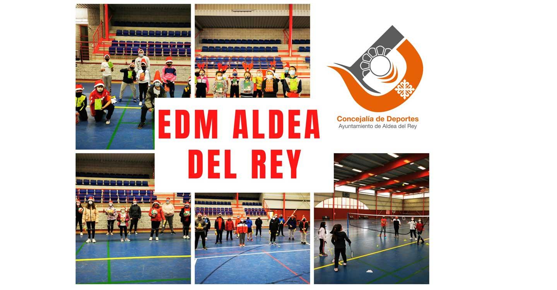 La escuela deportiva municipal de Aldea del Rey continúa con su funcionamiento y ya ha confirmado su participación en la competición de deporte base para el presente curso