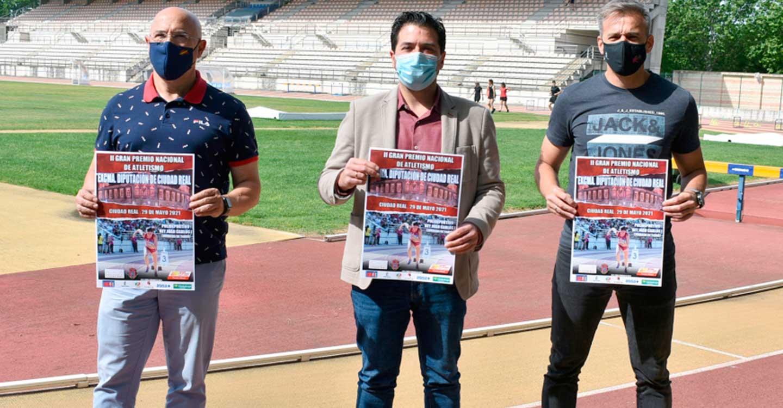 Este sábado se celebra el II Gran Premio Nacional de Atletismo Excma. Diputación de Ciudad Real