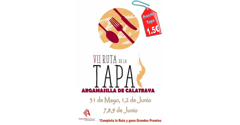Este viernes, Día de Castilla-La Mancha, se inicia la VII Semana de la Tapa de Argamasilla de Calatrava