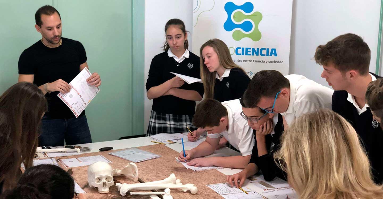 Estudiantes de Villarrubia de los Ojos viajan a la prehistoria con investigadores del CSIC este 31 de octubre