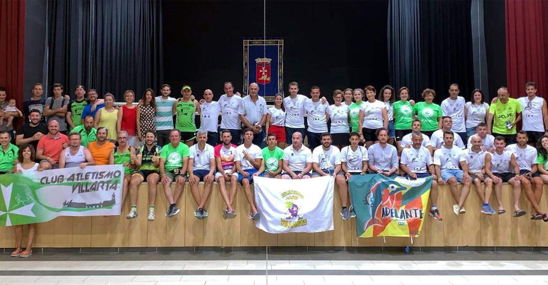 Éxito del gran reto solidario deportivo a favor de la ELA entre Villarta de San Juan y Villarta de Cuenca