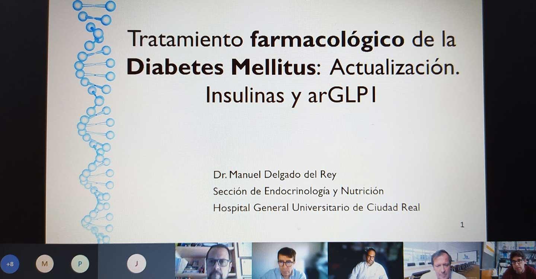 Farmacéuticos de Ciudad Real actualizan conocimientos sobre el tratamiento farmacológico del paciente diabético
