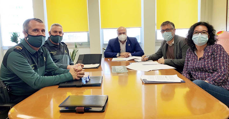 El Gobierno de Castilla-La Mancha y la Guardia Civil analizan los resultados de la 'Operación OPSON X' desarrollada en Ciudad Real