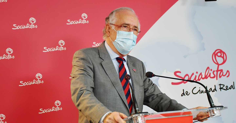 """Francisco Pérez: """"Los dirigentes del PP provincial de Ciudad Real y de la región siguen sin estar a la altura de la situación sanitaria"""""""